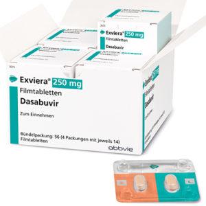 Эксвиера (Exviera, Dasabuvir)