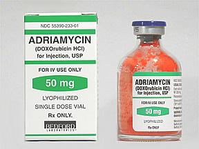 Адриамицин (Adriamycin)